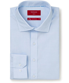 Slim Fit Shirt Blue with thread design