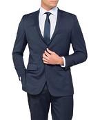 Euro Tailored Fit Suit Jacket Nailhead