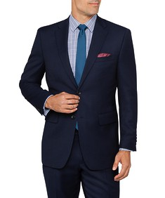 Van Heusen Euro Move Suit Jacket Navy