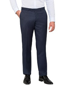 Euro Tailored Fit Suit Pants Nailhead