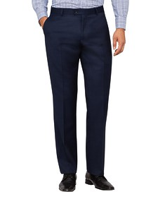 Van Heusen Euro Move Suit Trousers Navy