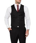 Van Heusen Mens Move Slim Vest Black
