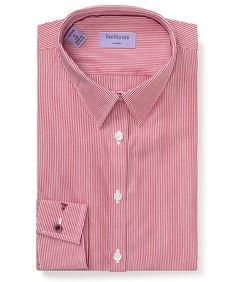 Women's Bust Fit Shirt Vertical Stripe