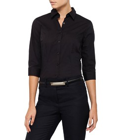 Womens Blouse Three Quarter Sleeve