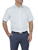 Van Heusen Textured Easy Care Classic Fit Mens Shirt