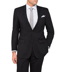 Classic Relaxed Fit Performance Suit Jacket