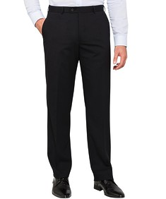 Mens Classic Fit Performance Suit Pants