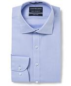 Euro Tailored Fit Shirt Herringbone