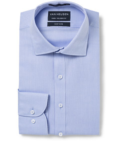Euro Tailored Fit Shirt Herringbone