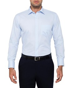 Van Heusen Easy Care Euro Fit Herringbone Shirt