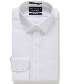 Euro Tailored Fit Shirt Self Stripe