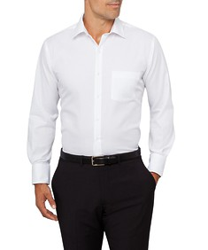 Van Heusen Euro Fit Shirt Herringbone