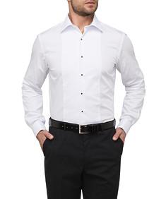 Van Heusen Cotton Semi Spread Collar Euro Dinner Mens Shirt