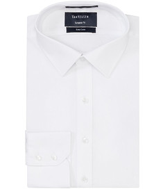 Euro Tailored Fit Shirt Dobby Texture