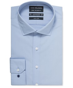 Euro Tailored Fit Shirt Solid Poplin
