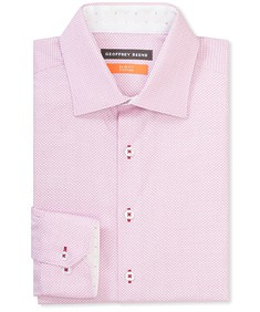 Slim Fit Shirt Dusty Pink Contrast