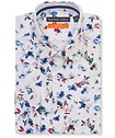 Slim Fit Shirt Watercolour Garden
