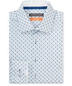 Slim Fit Shirt Blue Small Paisley