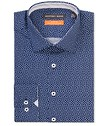 Slim Fit Shirt Deep Navy Retro