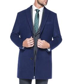 Overcoat Navy