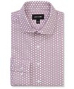 Slim Fit Shirt Geometric Print