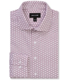 Slim Fit Shirt Geometric Print