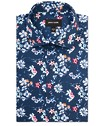 Slim Fit Shirt Mixed Floral