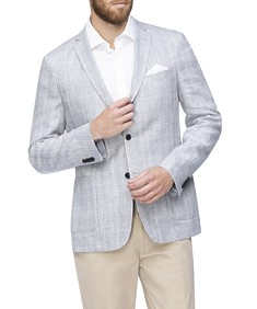 Casual Blazer Grey Check