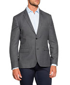 Commuter Casual Jacket Charcoal Birdseye