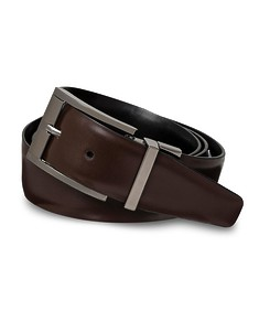 Belt Brown Smooth Texture Smooth Buckle