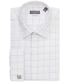 Classic Relaxed Fit Shirt White Multi Check