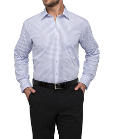 Mens Classic Fit Shirt Multi Window Check