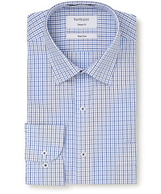 Classic Relaxed Fit Shirt Multi Window Check