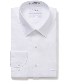 Classic Relaxed Fit Shirt Solid White