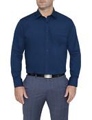 Van Heusen Mens Classic Fit Solid Colour Shirt