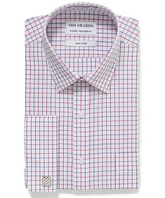 Classic Relaxed Fit Shirt Red Checks