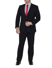 Mens Classic Fit Nested Suit Deep Navy