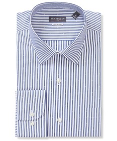 Classic Relaxed Fit Shirt Navy Nautical Stripe