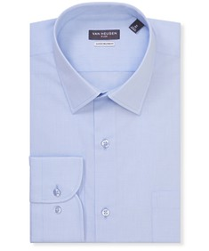 Classic Relaxed Fit Shirt Blue Texture