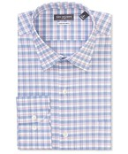 Classic Relaxed Fit Shirt Multi Line Checks