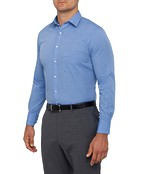 Mens Classic Fit Shirt Blue Thread