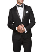 Euro Tailored Fit Tuxedo Jacket