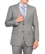 Van Heusen Euro Suit Jacket Prince Of Wales Grey