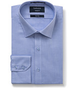 Euro Tailored Fit Shirt Solid Coloured