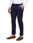 Mens Euro Fit Cotton Chinos