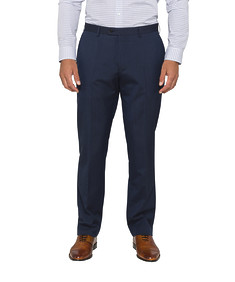Euro Tailored Fit Suit Pants Navy
