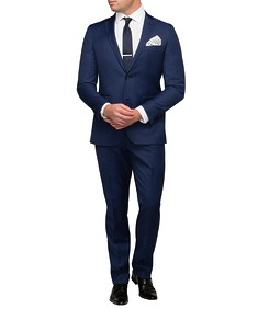 Men's Euro Fit Nested Suit Solid Colour