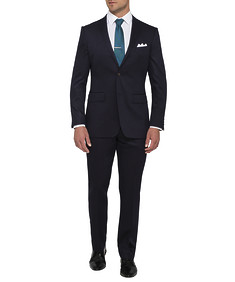 Mens Euro Fit Nested Suit Solid