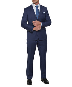 Mens Euro Fit Nested Suit Ink