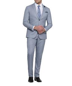 Men's Euro Fit Nested Suit Blue